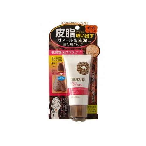 B&C Laboratories �Tsururi Mineral Clay Pack� ����-����� ��� ���� � ������ ��� �-����, 55 �.