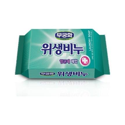 MUKUNGHWA Laundry soap Антибактериальное, противовирусное, антигрибковое хозяйственное мыло для стирки белья, 230 гр.