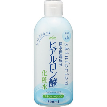 "NIHON Detergent ""Wins skin lotion hyaluronic acid"" Лосьон для кожи лица и тела с гиалуроновой кислотой, 500 мл."