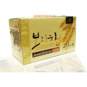 NOKCHAWON Корейский напиток из ячменя, в пакетиках, 1,5 гр * 20 шт.
