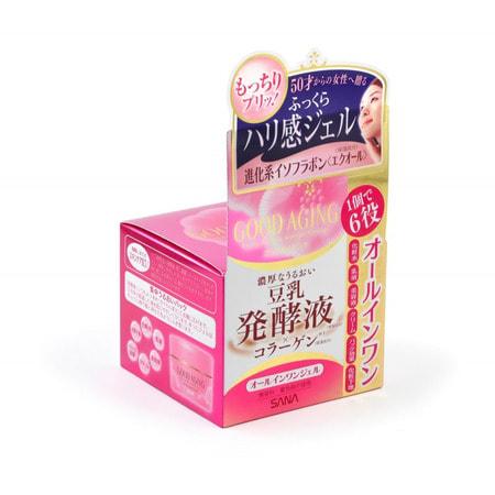 """Sana """"Good Aging Cream"""" Увлажняющий и подтягивающий крем для зрелой кожи """"6 в 1"""", 100 г. (фото)"""