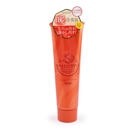 """Sana """"Hot&Cool Beauty Heat Cleansing"""" Очищающее средство для лица с разогревающим эффектом, 170 г."""
