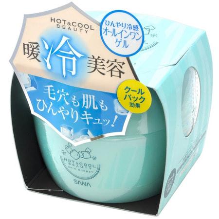 SANA «Hot&Cool Beauty Skin Sorbet» Крем для лица с охлаждающим эффектом, 100 г.