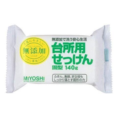 MIYOSHI Мыло для применения на кухне на основе натуральных компонентов, 140 гр.