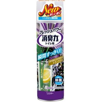 ST «Deodorant Force» Освежитель воздуха для туалета, с ароматом лемонграсса, 330 мл.