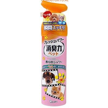 ST «Deodorant Force» Освежитель воздуха для комнаты против запаха домашних животных «Фруктовый сад», 280 мл.