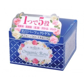 """Meishoku """"Skin Conditioning Gel"""" Гель-кондиционер для кожи лица с экстрактом дамасской розы, с экстрактом плаценты и осветляющим эффектом, 90 г. (фото)"""