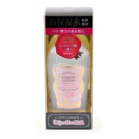 MEISHOKU «Premium Enrich Lotion» Интенсивно увлажняющий лосьон «Премиум» для ухода за сухой кожей лица, c растительными экстрактами, 160 мл. (фото)