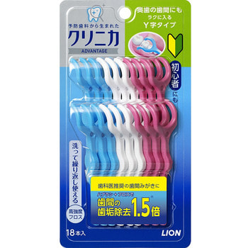 """Lion """"Clinica"""" Y-образная зубная нить, 18 шт."""