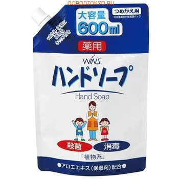 NIHON Detergent �Wins Hand soup� �������� ����������������� ����-���� ��� ���, � ���������� ����, �������� ����, 600 ��.