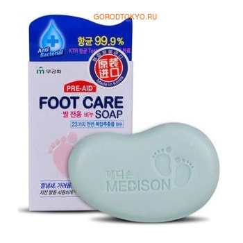 MUKUNGHWA «Foot care soap» Мыло для ухода за кожей ступней, 90 г.