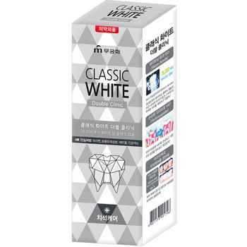 Фото MUKUNGHWA «Classic White» Отбеливающая зубная паста с микрогранулами, 110 г.. Купить с доставкой