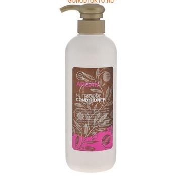 MUKUNGHWA «Argan» Кондиционер для питания повреждённых волос, с маслом арганы, алоэ, эвкалиптом и шёлковой эссенцией, 550 мл.
