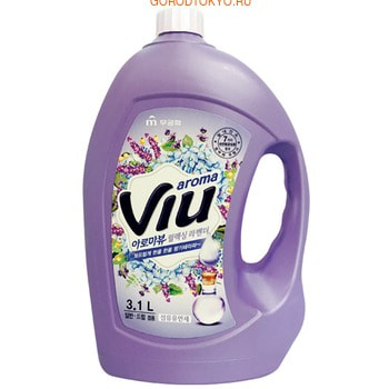 "Mukunghwa ""Aroma Viu Mediterranean Lavender"" Антибактериальный кондиционер, с ароматом средиземноморской лаванды, бутылка, 3,1 л."