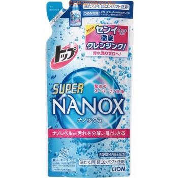 LION «Top Super NANOX» Жидкое средство для стирки, запасной блок, 360 г.