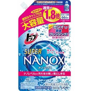 """Lion """"Top Super Nanox"""" Жидкое средство для стирки, запасной блок, 660 г."""