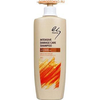 """LG Шампунь """"Elastine Intensive Damage Care"""", для окрашенных и поврежденных волос, 400 мл."""