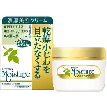 UTENA Moisture Интенсивно увлажняющий крем-эссенция для очень сухой кожи с экстрактом алоэ, 60 гр.СРЕДСТВА С ЭКСТРАКТОМ АЛОЭ<br>Натуральный увлажняющий крем-эссенция серии MOISTURE для вечернего ухода за кожей лица идеально подходит для сухой кожи.  <br>Благодаря экстракту алоэ, маслу жожоба и сквалану крем увлажняет и питает кожу одновременно.  Экстракт женьшеня препятствует обезвоживанию кожи.  Крем моментально впитывается, поддерживая кожу в тонусе и прекрасно увлажнённом состоянии.  Без содержания красителей, с нежным ароматом.   Применяется как для утреннего, так и для вечернего ухода, а также в качестве косметической основы.  Способ применения: небольшое количество крема нанесите на чистую кожу лица и шеи.  *Применяйте по всей коже лица, шеи или на участках, наиболее подверженных сухости.  Cостав: вода, минеральное масло, сорбитол, цетанол, стеариновая кислота, сквалан, глицерин, стеариловый спирт, бегеновая кислота, стеарат PEG-10, сок алоэ-вера 1, масло жожоба, глицерилстеарат, стеарат PEG-3, этиловый спирт, изопропил мирристинат, ТЕА, метилпарабен, бутилпарабен, ароматизатор.<br>