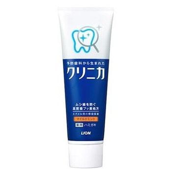 LION Зубная паста Clinica Mild Mint комплексного действия с ароматом мяты, 130 гр.