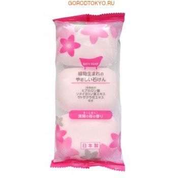 MAX Мыло туалетное с ароматом сакуры, 3 шт. по 80 гр.Туалетное кусковое мыло<br>Мыло образует густую мягкую пену, очищает и освежает кожу тела. Благодаря гиалуроновой кислоте не сушит кожу. Изготовлено по традиционному способу мыловарения (с мыльной основой из натуральных растительных компонентов). Экономично в использовании.  Обладает ароматом белых цветов.   Состав: мыльная основа, натрия гиалуронат, вода, EDTA-4Na, этидроновая кислота, диоксид титана, отдушка.<br>