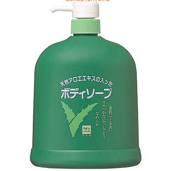 COW Жидкое мыло для тела с экстрактом алоэ, нежный цветочно-травяной аромат, 1200 мл.