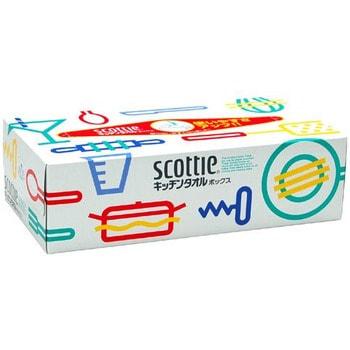 """Crecia """"Scottie"""" Бумажные прочные кухонные полотенца, двухслойные, 75 шт."""