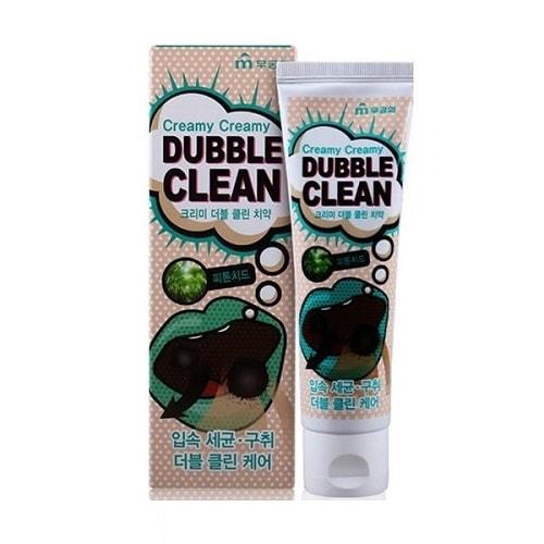 MUKUNGHWA «Mukunгhkwa» Кремовая зубная паста с очищающими пузырьками и фитонцидами, 110 гр.Зубные пасты<br>Паста предотвращает кариес, устраняет неприятный запах изо рта, сохраняет белизну зубов и их крепость.  Кремовая зубная паста заботится не только о зубах, но и устраняет бактерии, удаляет загрязнения со всей поверхности полости рта, а плотная текстура пены делает чистку зубов более комфортной.   Предотвращает возникновение гингивита, периодонтита, а также периодонтальных заболеваний и заболеваний десен.  Помните - не удаленный вовремя зубной налет приводит к образованию зубного камня.<br>