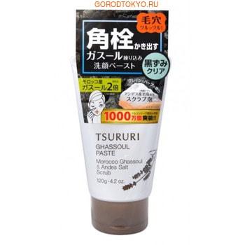 """BCL """"Tsururi Pore Ghassoul Paste"""" Пена-скраб для умывания и очищения пор с вулканической глиной, 120 г."""