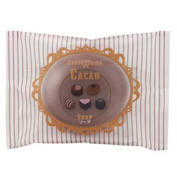 MASTER SOAP Косметическое туалетное мыло «Какао», 30 г.