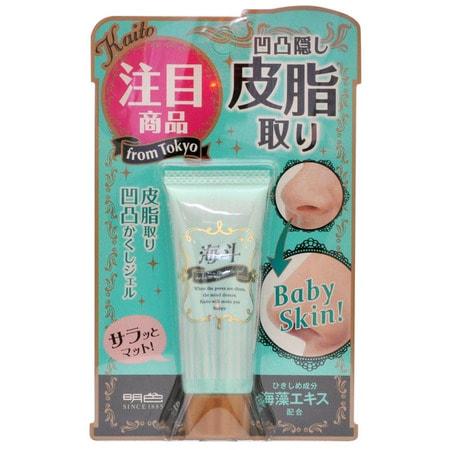 """Meishoku """"Porerina sebum off mat gel SPF15"""" Дневной матирующий крем-гель для жирной кожи, SPF15, 15 г. (фото)"""