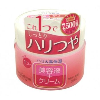 PDC «Pure Natural Cream Moist Lift» Крем-эссенция с лифтинг-эффектом, 100 г.АНТИВОЗРОСТНОЙ УХОД (ОТ З0-ТИ ЛЕТ И СТАРШЕ)<br>Интенсивное увлажнение и упругость кожи с помощью одного средства, совмещающего в себе свойства крема и эссенции! Крем глубоко проникает в кожу, увлажняет, оживляет ее и делает более упругой и подтянутой. Делает менее заметными морщинки, вызванные сухостью кожи. Активные увлажняющие и подтягивающие компоненты: морской коллаген, гиалуроновая кислота, экстракт розмарина. Не содержит ароматизаторов и красителей.  Способ применения: нанесите на очищенную кожу лица после умывания либо после применения лосьона и молочка.  Используйте крем утром и вечером.  Рекомендуется использовать вместе с лосьоном серии PURE NATURAL.  Состав: вода, глицерин, BG, минеральное масло, токоферол, цетил этилгексаноат, вазелин, BHT, полисорбат-60, карбомер, натрия полиакрилат, глицерил этилгексаноат/стеарат/адипат, калия гидроксид, сорбитан сесквиизостеарат, PEG-9M, BHT, экстракт листьев розмарина, растворимый коллаген, феноксиэтанол, парабены, гиалуронат натрия, цетиловый спирт, стеариновая кислота, пальмитиновая кислота. <br> Компания  pdc Inc была создана в 1992 г. как подразделение корпорации POLA ORBIS Group ; крупнейшего производителя косметических средств в Японии, входящего в пятерку лидеров наряду с производителями косметических брендов KANEBO, SHISEIDO, KOSE, KAO. Корпорация POLA ORBIS начала свою историю в 1929 г. <br> Прекрасно оснащенные лаборатории компании позволяют создавать косметику, отвечающую самым высоким требованиям качества и удовлетворяющую вкус самых взыскательных покупателей. Продукция компании неоднократно получала высокие награды на конкурсах косметических средств. <br> Pdc (perfectly designed cosmetics) - идеально разработанная косметика. <br> Бренд  pdc ; это только высококачественные косметические продукты.  <br> Миссия компании:  Для каждого клиента наша косметика должна стать помощником, партнером по уходу за кожей, дарить ему красивую, зд