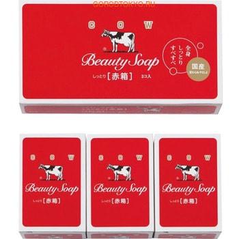 COW Beauty Soap Молочное туалетное мыло с ароматом цветов, коробка - 3 шт. по 100 гр.ПОДАРОЧНЫЕ НАБОРЫ МЫЛА<br>; Мыло с молочными жирами из натурального цельного коровьего молока и цветочным ароматом. ; Густая пена мягко очищает, молочные жиры и сквалан увлажняют и смягчают кожу, повышая её защитные свойства.  ; Подходит для ежедневного ухода. <br>Рекомендации: для сухой и обветренной кожи Способ применения: необходимое количество вспенить на ладони и нанести на руки или тело. Помассировать и тщательно смыть теплой водой.<br> Состав: молочные протеины, растительные компоненты, сквалан, дибутил-гидрокситолуен, ароматическая  композиция.<br>