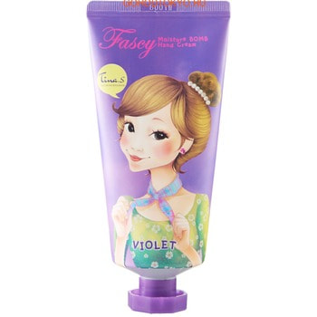 Fascy «Moisture Bomb Hand Cream» Увлажняющий крем для рук с лавандовой водой, 80 мл.