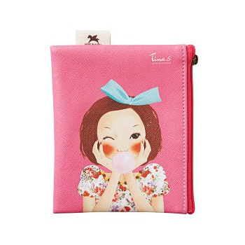 WHITE COSPHARM «Pungseon Tina Mini Pocket Pouch» Карманная косметичка. от GorodTokyo
