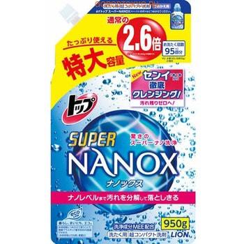 """Lion """"Top Super NANOX"""" Жидкое средство для стирки, запасной блок, 950 г. (фото)"""
