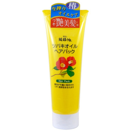 KUROBARA Camellia Oil Hair Pack / Восстанавливающая маска для повреждённых волос с маслом камелии японской, 280 гр.