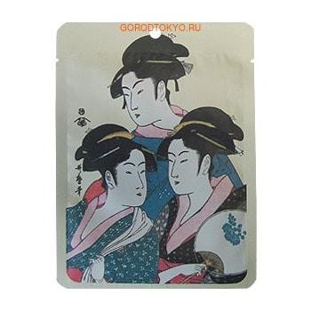 """Mitomo Маска для лица """"Золото + экстракт цветков сакуры"""", 25 г."""