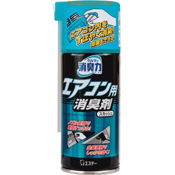 ST «Shoshuriki» Дезодорант для устранения неприятного запаха кондиционера и табака «Водяной сквош», 77 мл.Для автомобиля<br>Дезодорант устраняет вьевшийся запах табака и другие неприятные запахи в салоне и системе кондиционера, обладает антибактериальным эффектом, делает воздух в салоне кристально чистым и свежим. Обладает мощной дезодорирующей способностью, распространяя поток воздуха из кондиционера по всему салону автомобиля.<br>