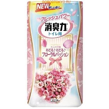 Фото ST «Shoshuriki» Жидкий ароматизатор для туалета «Цветочная страсть», 400 мл.. Купить с доставкой