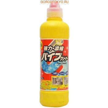 ROCKET SOAP Pipe Express Экспресс-гель для очистки труб, 450 гр.Для туалета<br>Тщательно удаляет загрязнения и волосы.  Густой гель тщательно проникает по всей поверхности труб, тщательно удаляет слизь и волосы, имеет высокую растворяющую способность.  Применение: для очистки канализационных труб в ванне, раковины, кухне.  Не использовать для: изделий из эмали, алюминия, латуни, меди.  Способ использования:  1. Снимите прозрачную крышку, нанесите жидкость в сливное отверстие и вокруг. *Наклоните флакон носиком набок.  2. Оставьте на 15-30 минут и затем смойте водой. 3. После использования закрутите крышку и храните в таком положении.  *При попадании средства на флакон, смойте водой. Дозировки: Для профилактики и устранения запаха: одно деление на флаконе (примерно 50 мл) Для устранения проблемы: три деления на флаконе (примерно 150 мл)  Состав: гидроксид натрия (2,5%), гипохлорит, ПАВ.  Щелочное средство.<br>