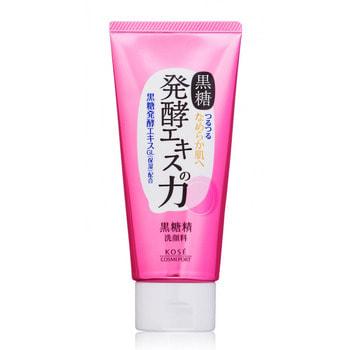 """Kose Cosmeport """"Kokutousei"""" Пенка с белой глиной, для глубокого очищения пор, на основе экстракта сахарного тростника, 130 г. (фото)"""