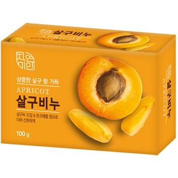 MUKUNGHWA «Rich Apricot Soap» Восстанавливающее косметическое мыло с маслом абрикоса, 100 г.Туалетное кусковое мыло<br>Коктейль из абрикосового масла и токоферола (витамин Е) восстанавливает защитные свойства кожи, питает и смягчает, придает коже гладкость.  Мыло придает коже приятное ощущение свежести после каждого применения.  Приятный аромат спелого абрикоса.<br>