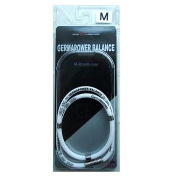 Фото M-Kaep Германиевое ожерелье с антистатическим эффектом, размер М - 46 см, цвет - белый.. Купить с доставкой