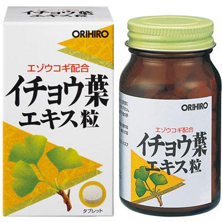 ORIHIRO Гинко Билоба + Элеутерококк, 240 таблеток. от GorodTokyo