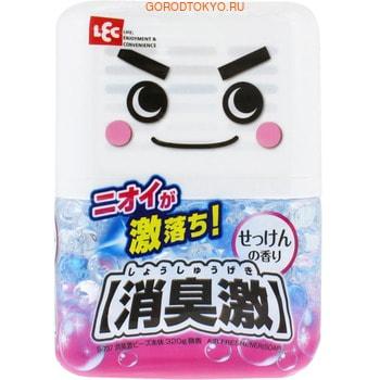 Фото LEC Универсальный гелевый нейтрализатор посторонних запахов, с ароматом цветочного мыла, 320 гр.. Купить с доставкой
