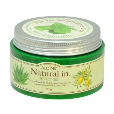 Aloins «Natural In Perfect Gel» Увлажняющий гель для лица с экстрактом алоэ 5 в 1, 120 г.