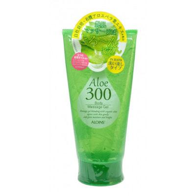 Aloins «Aloe Body Massage Gel» Гель для массажа тела с экстрактом алоэ, 300 г.Кремы, лосьоны, молочко<br>Косметический гель предназначен для массажа тела в ванне или душе.  После процедуры вы получите гладкую, сияющую, увлажненную кожу. Содержит экстракт листьев органического алоэ, выращиваемого компанией ALOINS.  Активные компоненты: <br><br>Экстракт листьев алоэ содержит эфирные масла, витамины (антиоксидантный комплекс А, Е и С, витамины группы В с уникально высоким содержанием витамина В12), минералы, флавоноиды и другие биологически активные компоненты; питает и увлажняет кожу, оказывает положительное влияние на процессы регенерации тканей.<br>3 вида косметических масел (миндальное, семян макадамии, плодов шиповника) ; увлажняющие и смягчающие компоненты.<br>Комплекс растительных экстрактов (хвоща полевого, сосновых почек, хмеля, лимона, розмарина) улучшает обмен веществ в клетках тканей, способствует выводу излишней жидкости и токсинов, придает коже упругость, тонизирует.<br><br>Косметические товары ALOINS производятся в экологически чистом районе Японии - Симанто с использованием натуральных компонентов и очищенной воды из глубоководных подземных источников. Обладает ароматом зелени и цветов.  Способ применения: после принятия душа нанесите средство на тело массажными движениями, затем тщательно смойте водой.  Состав: вода, глицерин, гликозилтрегалоза, этанол, PEG-75, экстракт алоэ, масло шиповника, макадамии, миндаля, экстракты хвоща полевого, сосновых почек, хмеля, лимона, розмарина, сок сахарного клена, мед, бетаин, агар, ксантановая камедь, гидрогенезированный гидролизат крахмала, акрилат / С10-30 алкил акрилат кроссполимер, карбомер, натрия полиакрилат, поликватерниум-50, PEG-60 гидрогенезированное касторовое масло, калия гидроксид, EDTA-2Na, BG, токоферол, аскорбил дипальмитат, BHT, отдушка, феноксиэтанол, метилпарабен, пропилпарабен.<br>