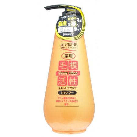 JUNLOVE «Scalp Clear Shampoo» Шампунь для укрепления и роста волос, против перхоти, 500 мл. от GorodTokyo