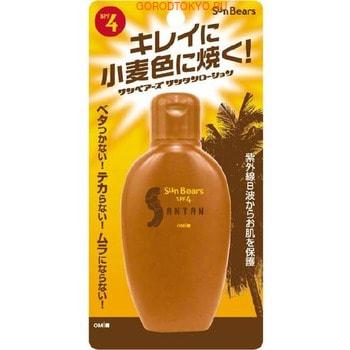 """Omi Brother """"Sun Bears"""" Водостойкий влагосберегающий лосьон для загара с защитой от ультрафиолета с экстрактом алоэ вера, SPF4, 100 мл."""