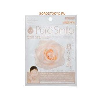 SUN SMILE «Pure Smile Essence mask» Восстанавливающая маска для лица с эссенцией белой розы, 1 шт.